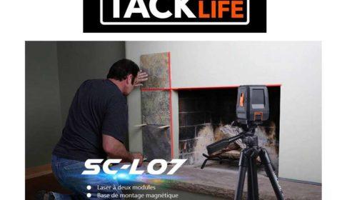 niveau laser horizontal et vertical Tacklife SC-L07