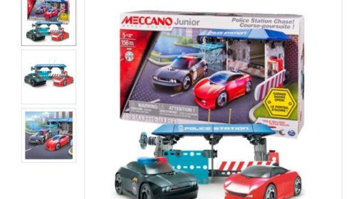 poste de police course poursuite Meccano Junior