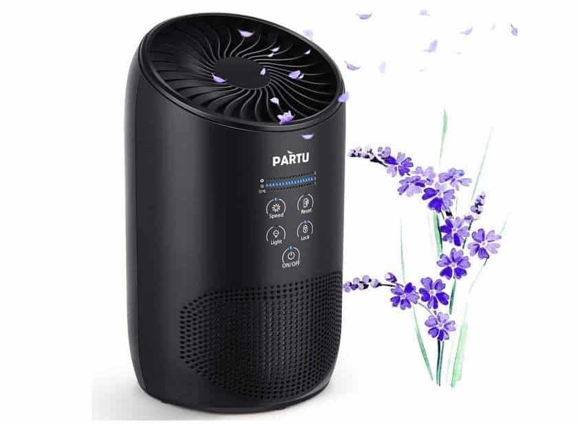 49 98 purificateur d air silencieux avec filtre hepa aicok pollen poussi res bact ries odeur. Black Bedroom Furniture Sets. Home Design Ideas