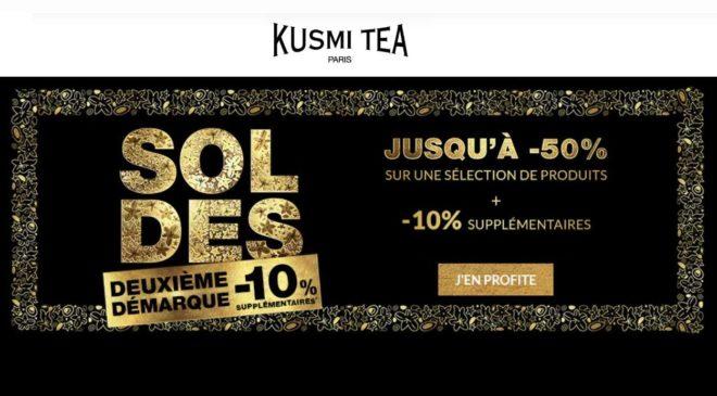 remise supplémentaire sur les soldes Kusmi Tea