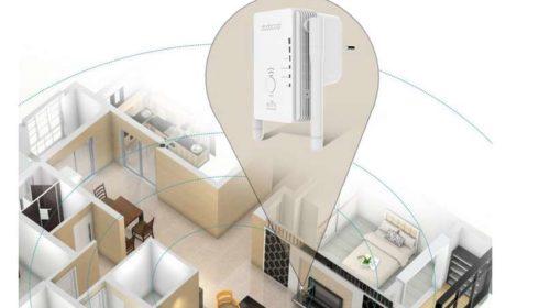 répéteur Wi-Fi double antenne 300Mbps dodocool