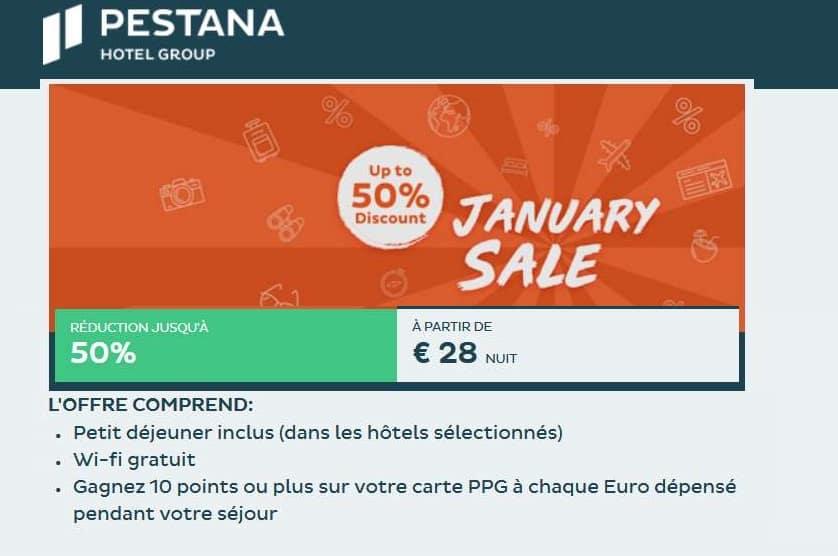 votre séjour au Portugal ou Madère avec les soldes Pestana hôtels