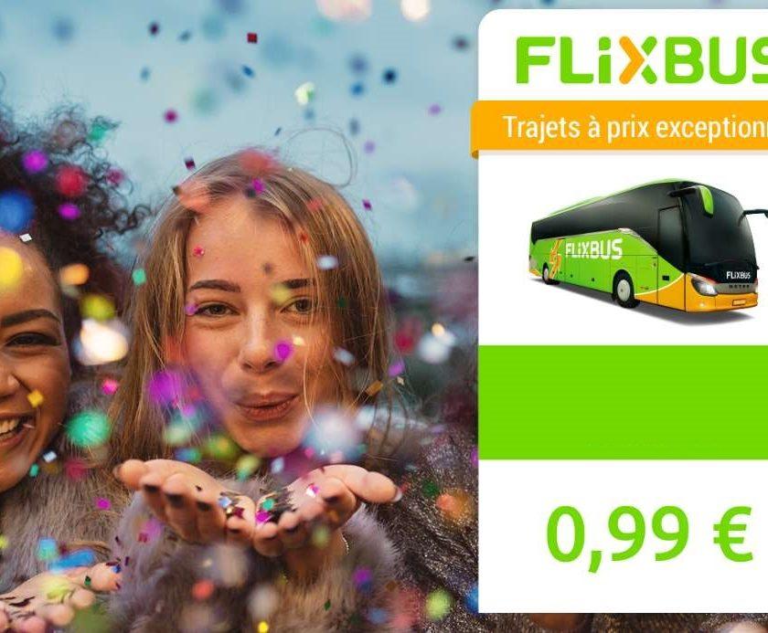 20 000 billets de bus FlixBus vers l'Espagne à 0,99€