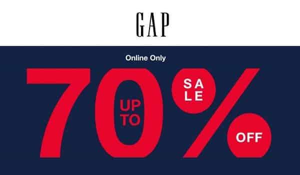 20% De Remise Supplémentaire Sur Les Soldes Gap