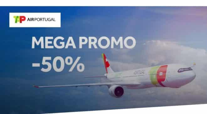 50% de réduction sur tous les vols TAP Portugal