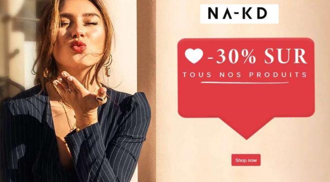 Anniversaire NA-KD 30% de remise sur tout le site