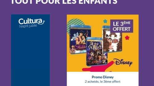 Bon plan DVD et Blu-Ray Disney