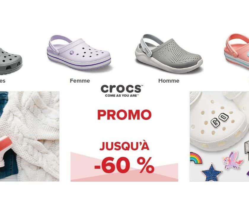 Bonnes affaires Crocs