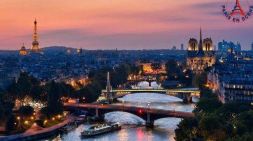 Diner Croisière sur la Seine pour 2 personnes avec bateau Paris en Scène