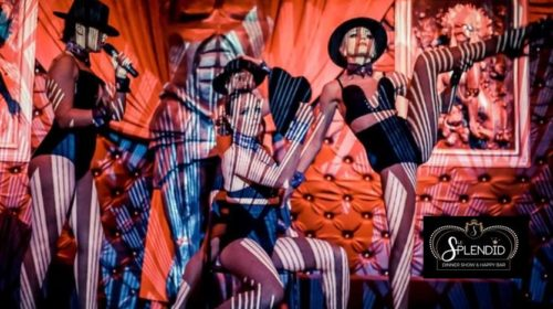 Diner show cabaret Le Splendid moitié prix