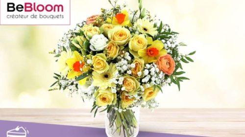 Remise sur la livraison de fleurs avec un bon d'achat Bebloom