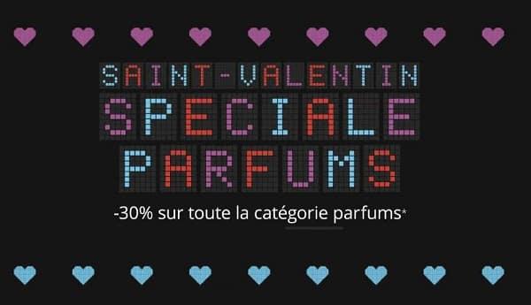 Saint Valentin 30% Sur Tous Les Parfums Sur Feel Unique