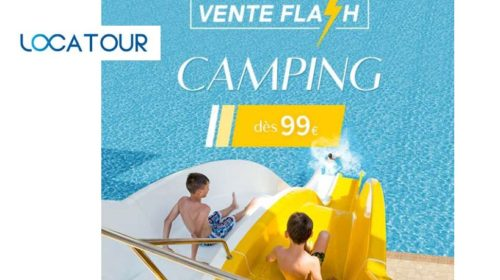 Vente Flash Camping Locatour