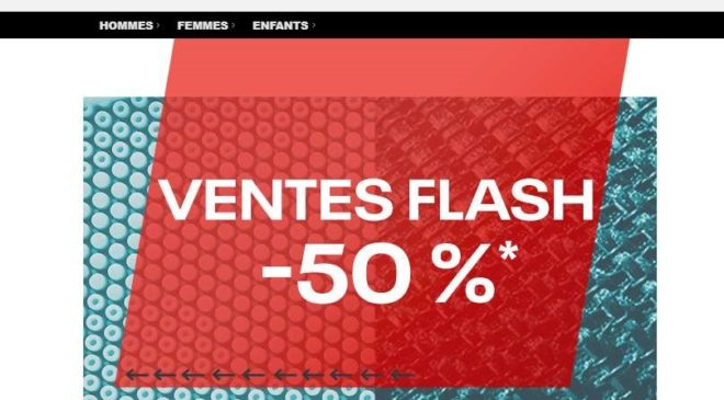 Vente flash Outlet Reebok