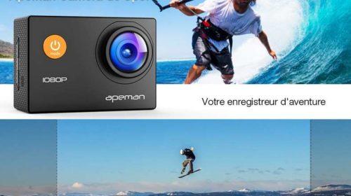 caméra sport Apeman A66 1080p Full HD grand angle