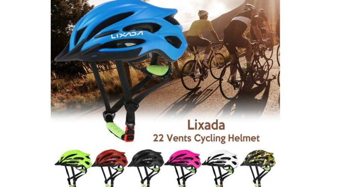 casque de vélo ultralight Lixada sport