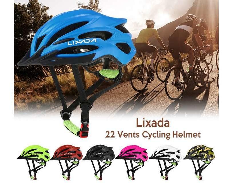 casque de vélo ultralight Lixada sport