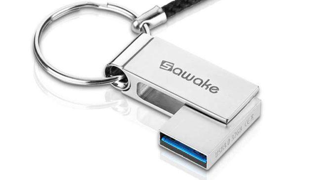 clé USB 3.0 aluminium marque Sawake