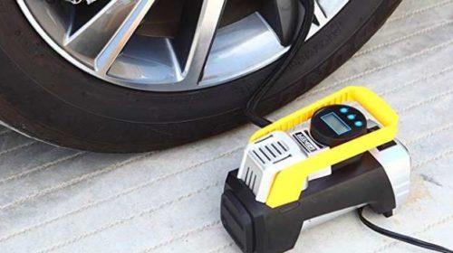 compresseur auto 12v avec ecran LED forte Puissance Geker