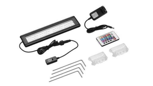 remise en plus sur les éclairages aquarium LED Dadypet avec télécommande