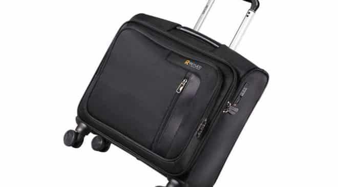valise à roulettes avec serrure TSA et QR code d'identification