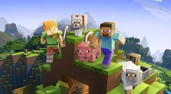 0,58€ le jeu Minecraft Windows 10 Edition