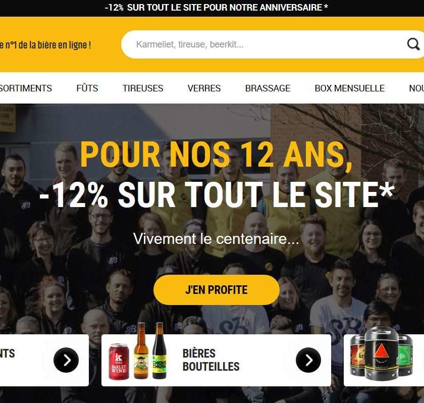 12% de remise sur Saveur Bière