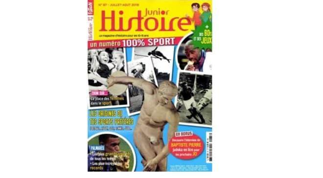Abonnement magazine Histoire Junior pas cher