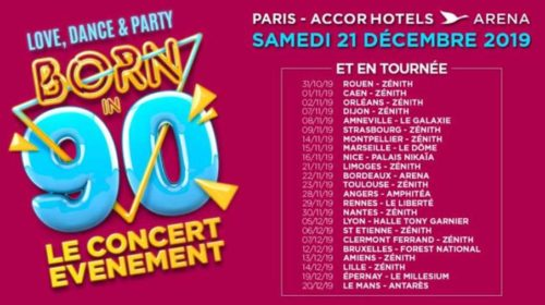 Billet spectacle BORN IN 90 Love, Dance & Party pas cher