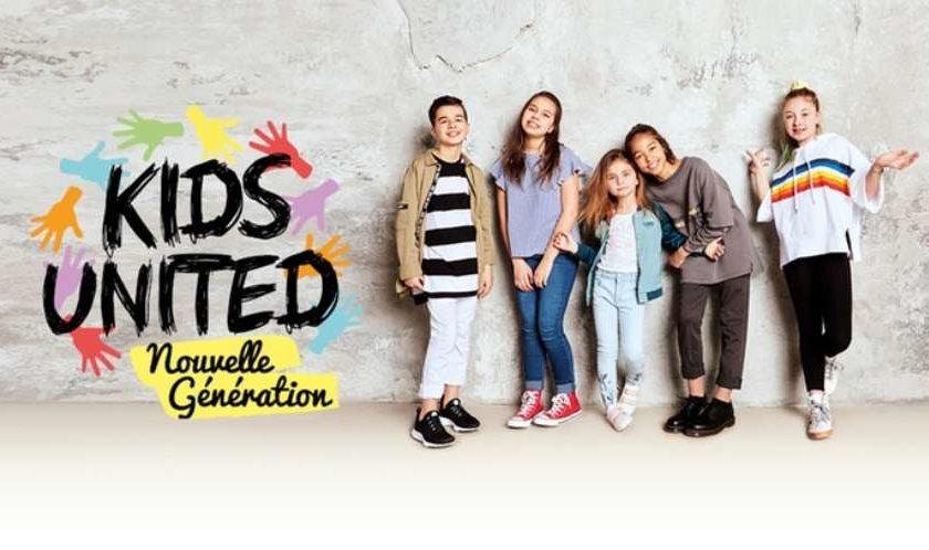 Billet tournée Kids United Nouvelle Génération pas cher