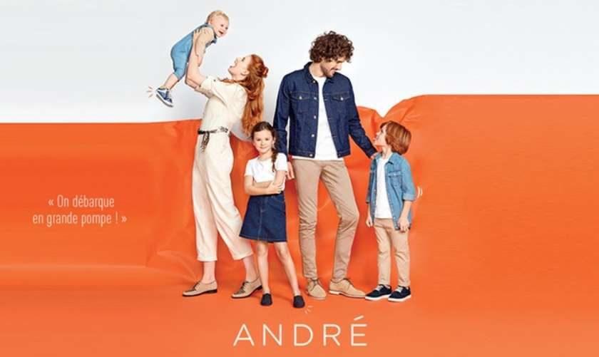 Bon de réduction André remise sur votre achat en boutique