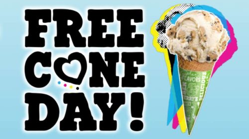 Free Cone Day 2019 glaces Ben & Jerry's