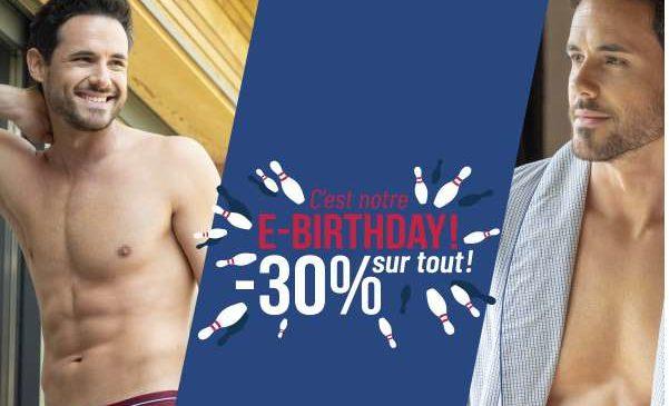 Offre Anniversaire 30% De Réduction Sur Tous Le Site Eminence