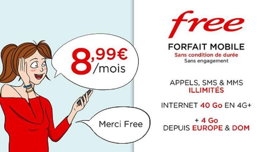 Vente Privée forfait Free Mobile sur Veepee