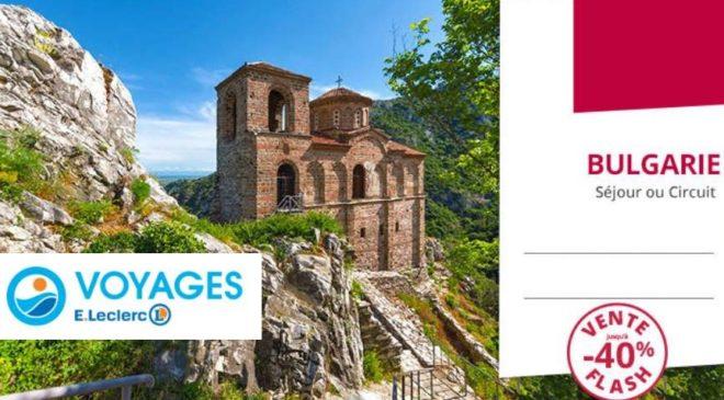 Vente flash vacances en Bulgarie Leclerc Voyages