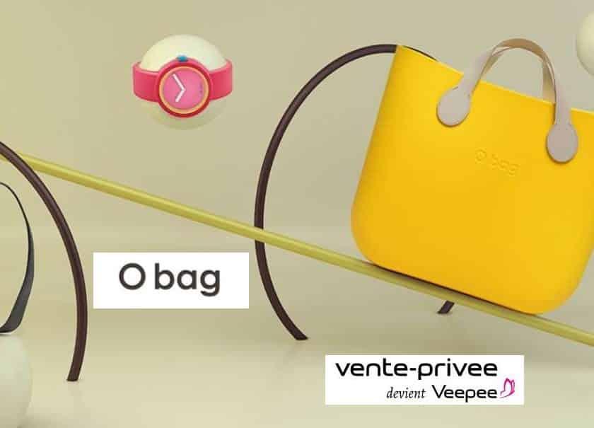 Vente privée O'Bag sacs O'bag moitié prix