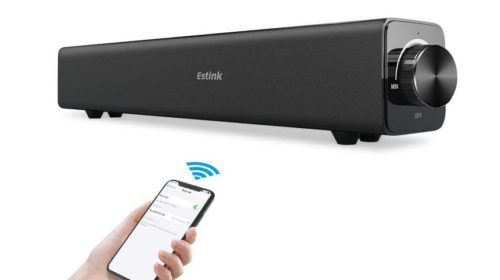 barre de son 20W Bluetooth portable Estink