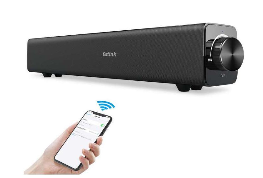 barre de son 20W Bluetooth portable Estink