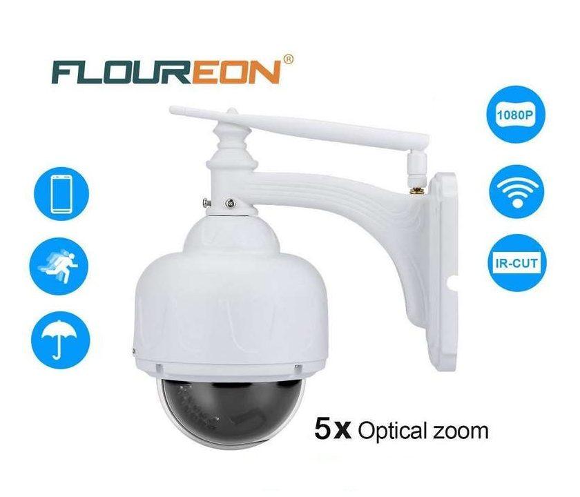 caméra de surveillance rotative sans fils Floureon