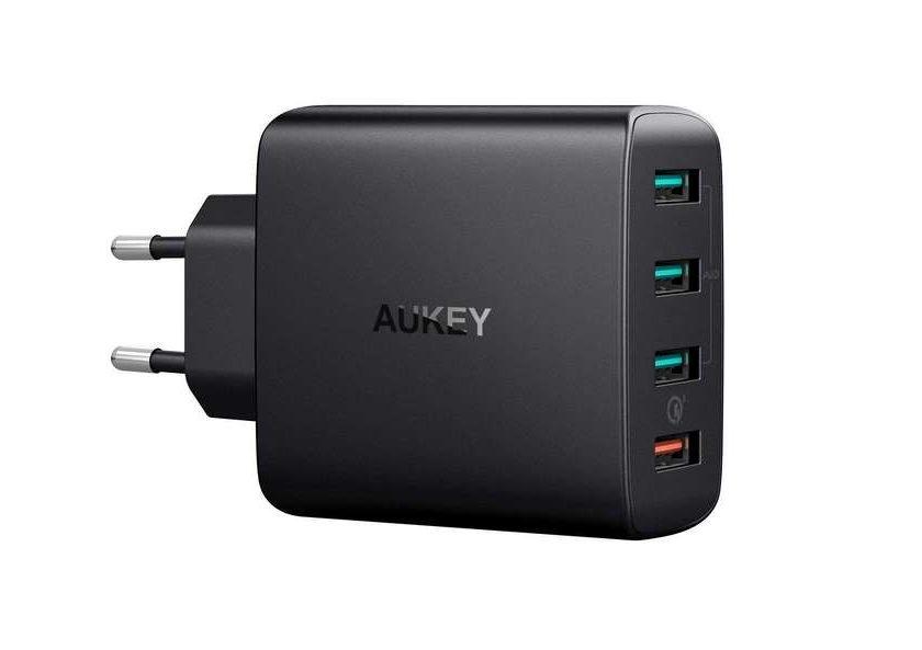 chargeur USB secteur 42W Aukey PA-T18