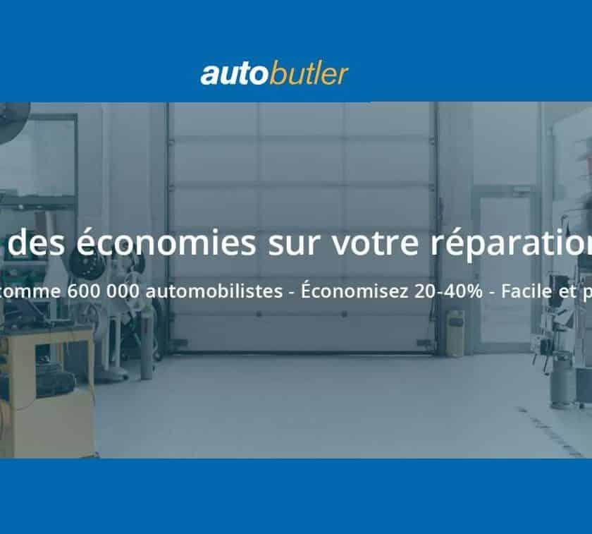 entretien voiture moins cher avec Autobutler la plateforme qui fait économiser