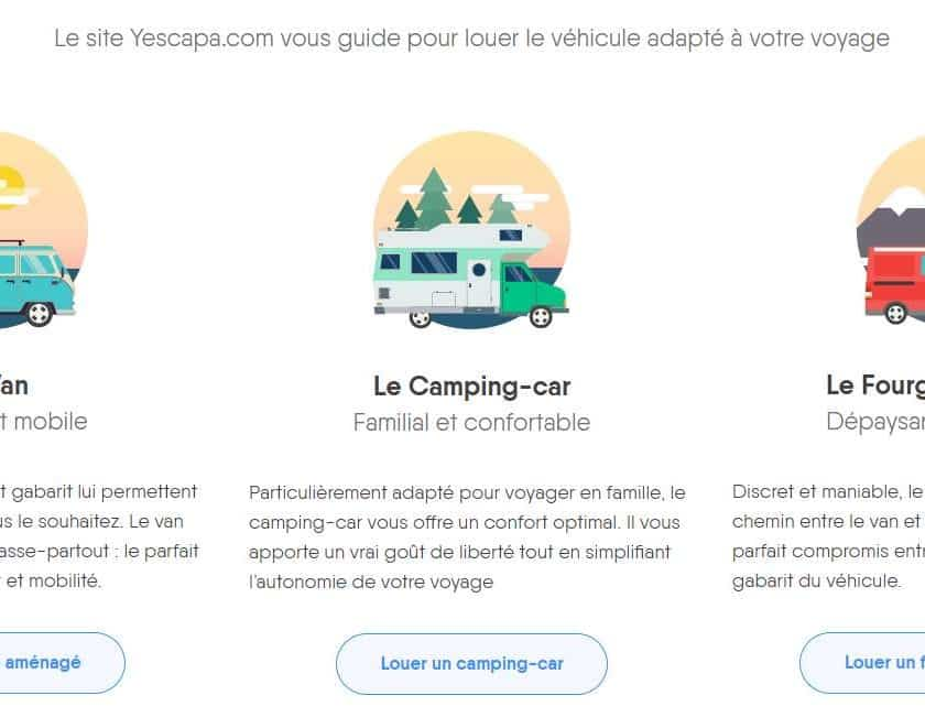 location de camping-car entre particulier Yescapa