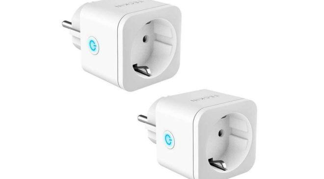 lot de 2 prises Wi-Fi Teckin compatible Alexa, Google Home, IFTTT et smartphone