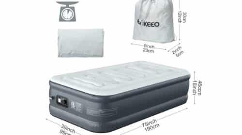 matelas gonflable avec pompe intégrée ENKEEO pas cher