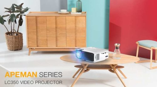 projecteur home cinéma Apeman LC350 pas cher