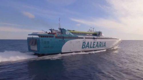 réduction sur tous les billets de ferry Balearia