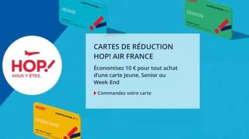 remise sur les cartes HOP ! Air France