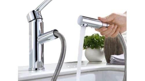 25 99 robinet mitigeur cuisine salle de bain avec - Robinet cuisine avec douchette extractible ...