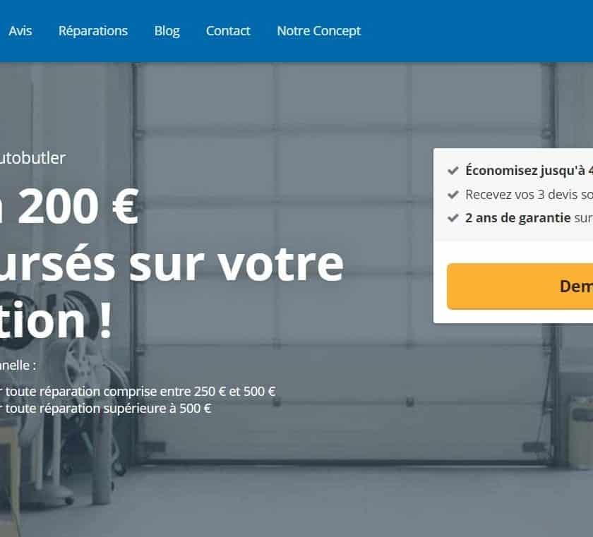 100€ ou 200€ remboursés sur la réparation de votre voiture avec Autobutler