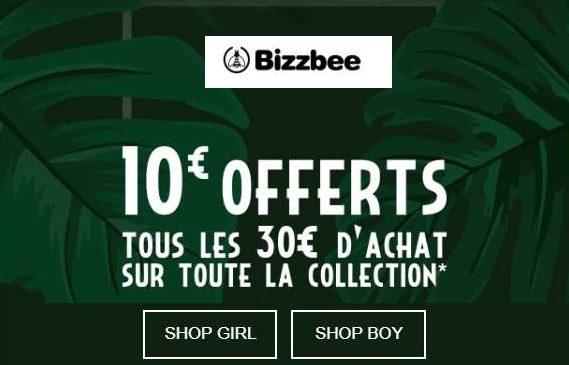 10€ de remise sur Bizzbee